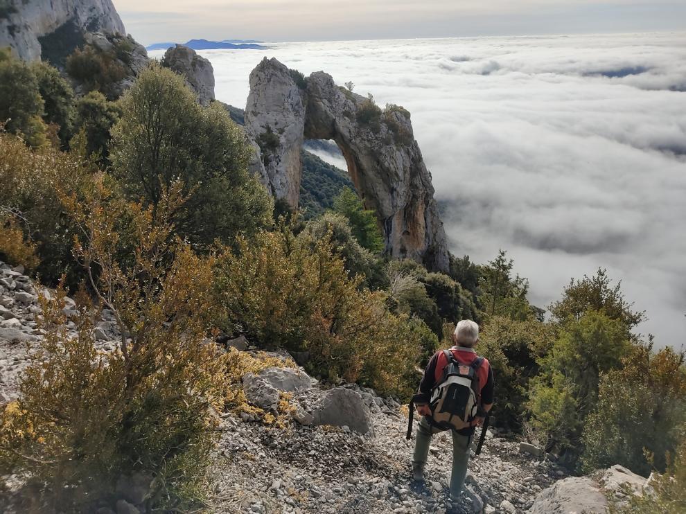 La niebla desde La Portaza