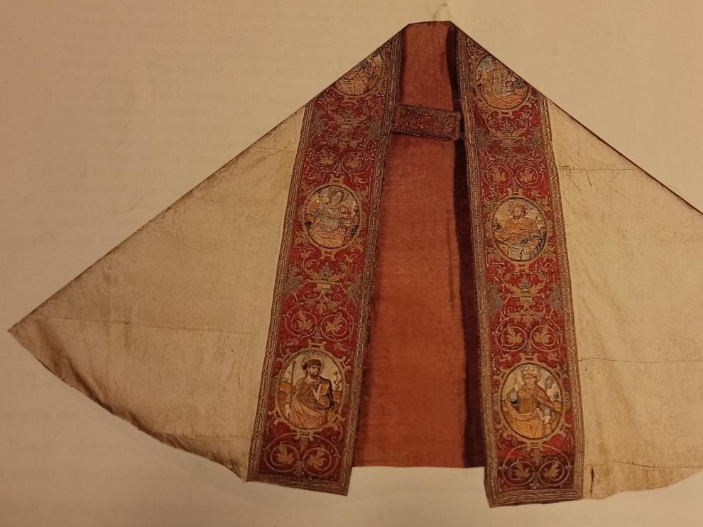 Las mejores piezas textiles de Roda de Isábena no están entre las devueltas por el Museo de Lérida