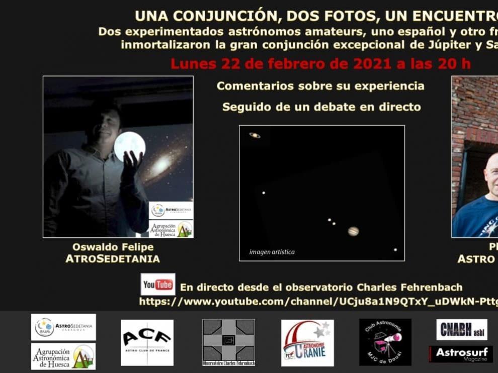 La fotografía planetaria, eje central del encuentro hispano francés