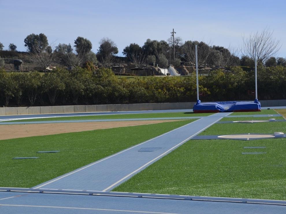 Un Campeonato de España de atletismo, puesta de largo en Barbastro