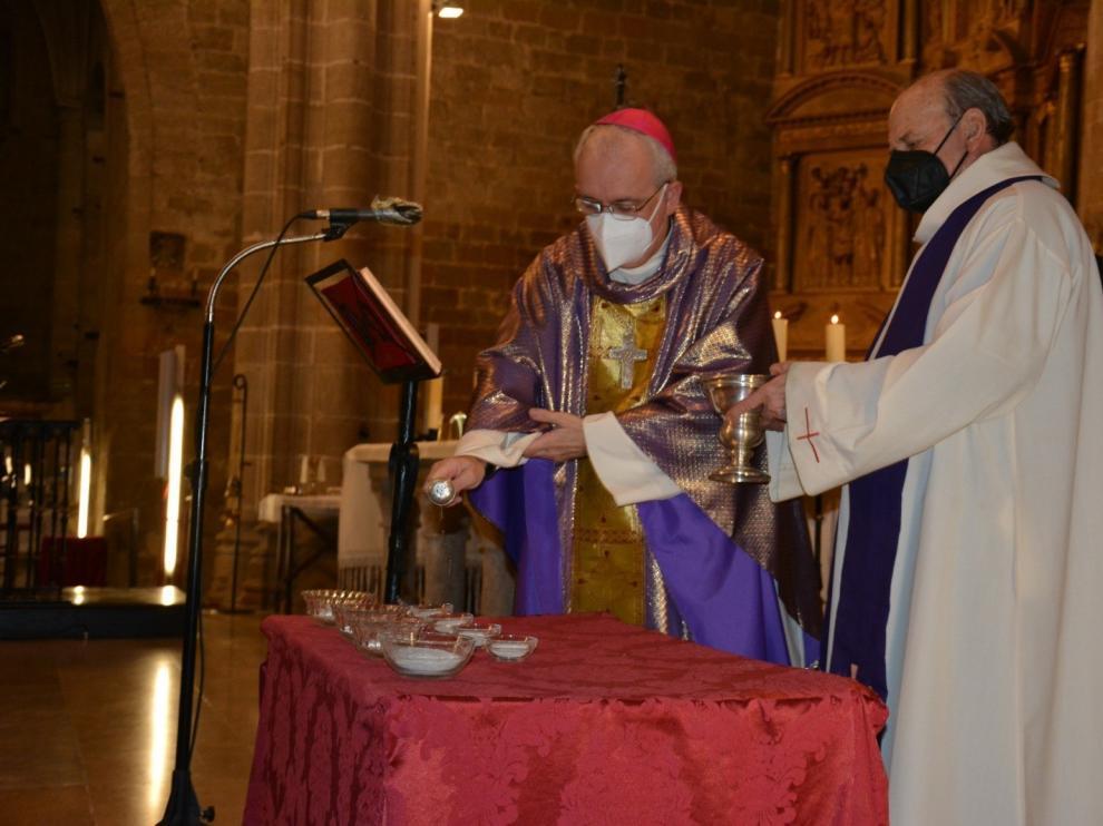 Barbastro prepara la Pascua tras el Miércoles de Ceniza