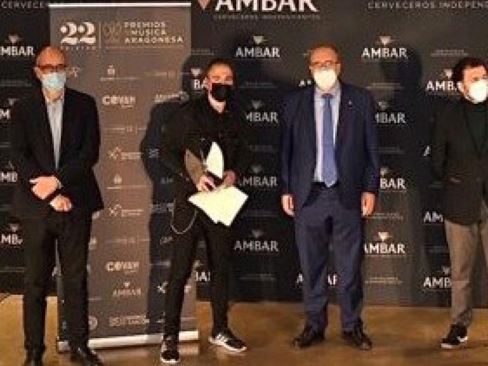 Los XXII Premios de la Música Aragonesa viajan hasta Alcañiz