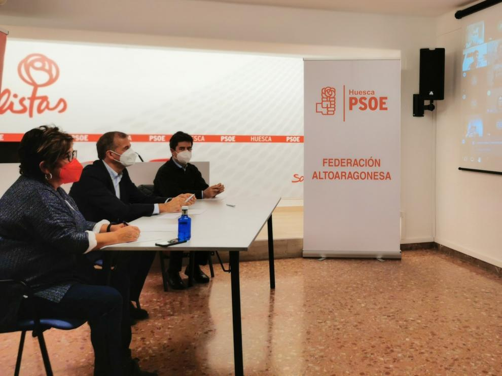 El PSOE Alto Aragón destaca el Plan Remonta y solicita apoyo para los sectores empresariales de la provincia