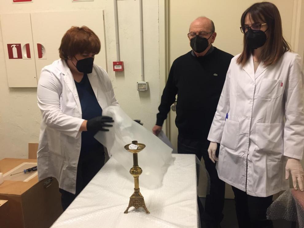 El obispado de Barbastro-Monzón también pide multas diarias de 500 euros para el Museo de Lérida y la Diócesis