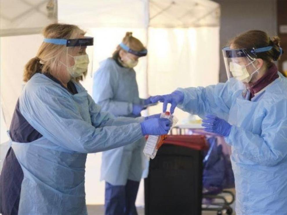 La propagación del virus retrocede con fuerza en Huesca