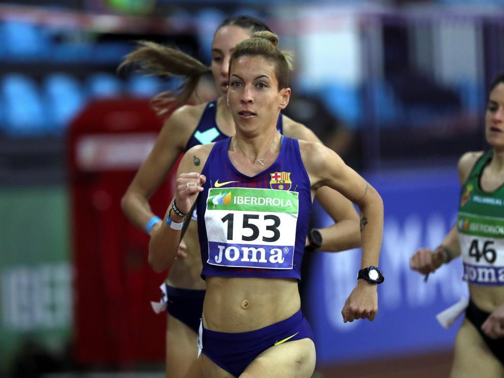 Cristina Espejo se queda fuera de la final y del Europeo en atletismo