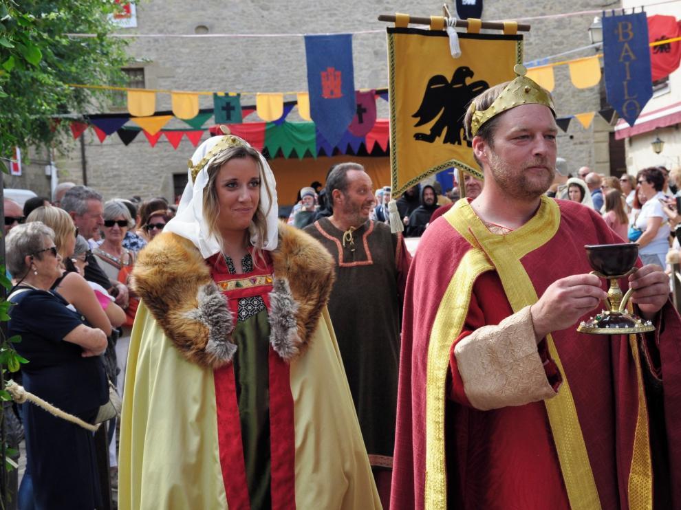 Jaca acogerá una muestra internacional sobre el Camino del Santo Grial