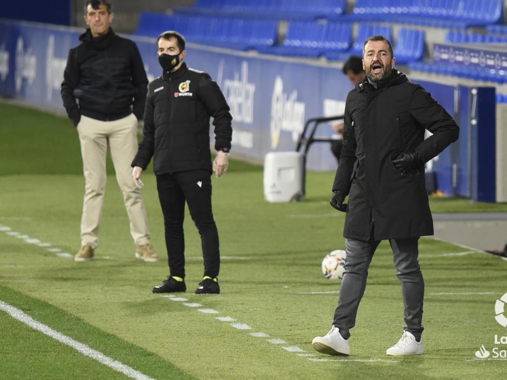 """Diego Martínez: """"Sabíamos que íbamos a tener problemas en el balón parado"""""""