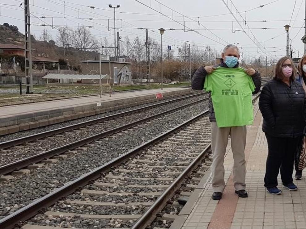 Cambiar Monzón reivindica la recuperación de un tercer tren