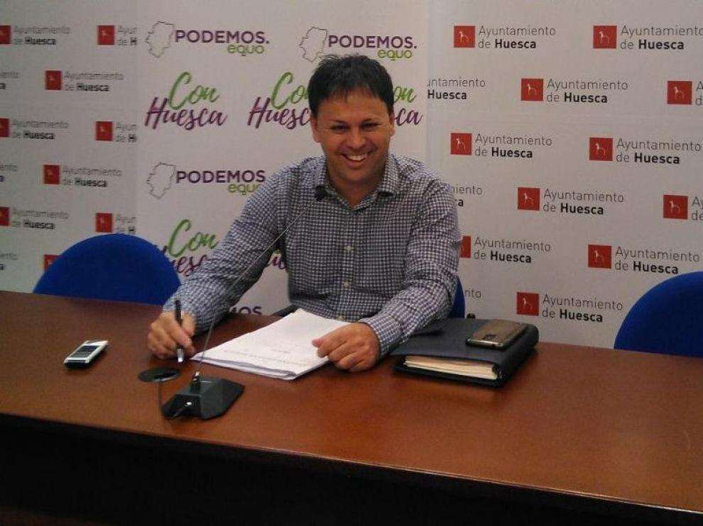 Con Huesca solicita que la ciudad de Huesca se adhiera a la Red de Ciudades que caminan