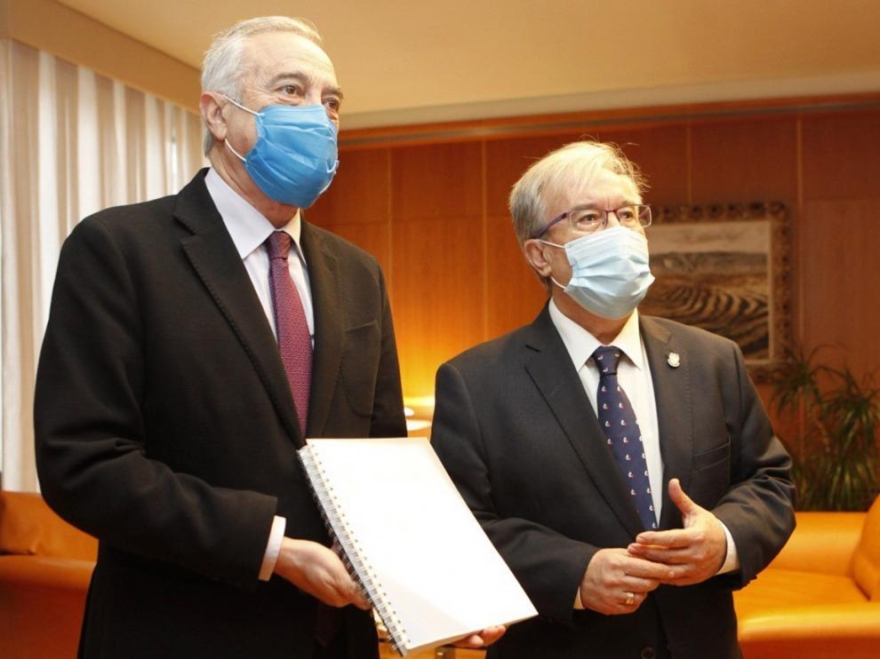 La pandemia de coronavirus ha agravado las desigualdades, según el Justicia de Aragón