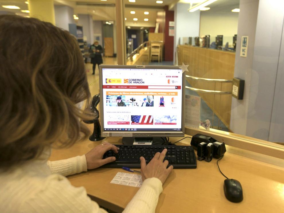 Los préstamos de ebooks en las Bibliotecas Municipales crecen un 101 por ciento entre los oscenses