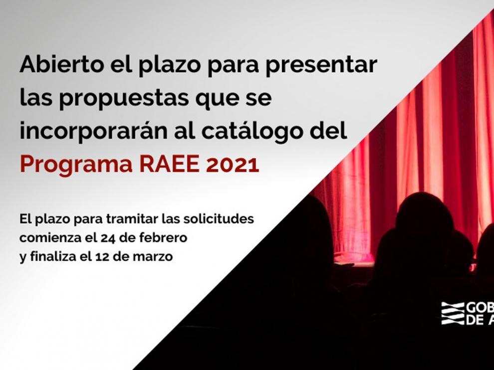 Abierto el plazo para presentar las propuestas de espectáculos para la Red Aragonesa en 2021