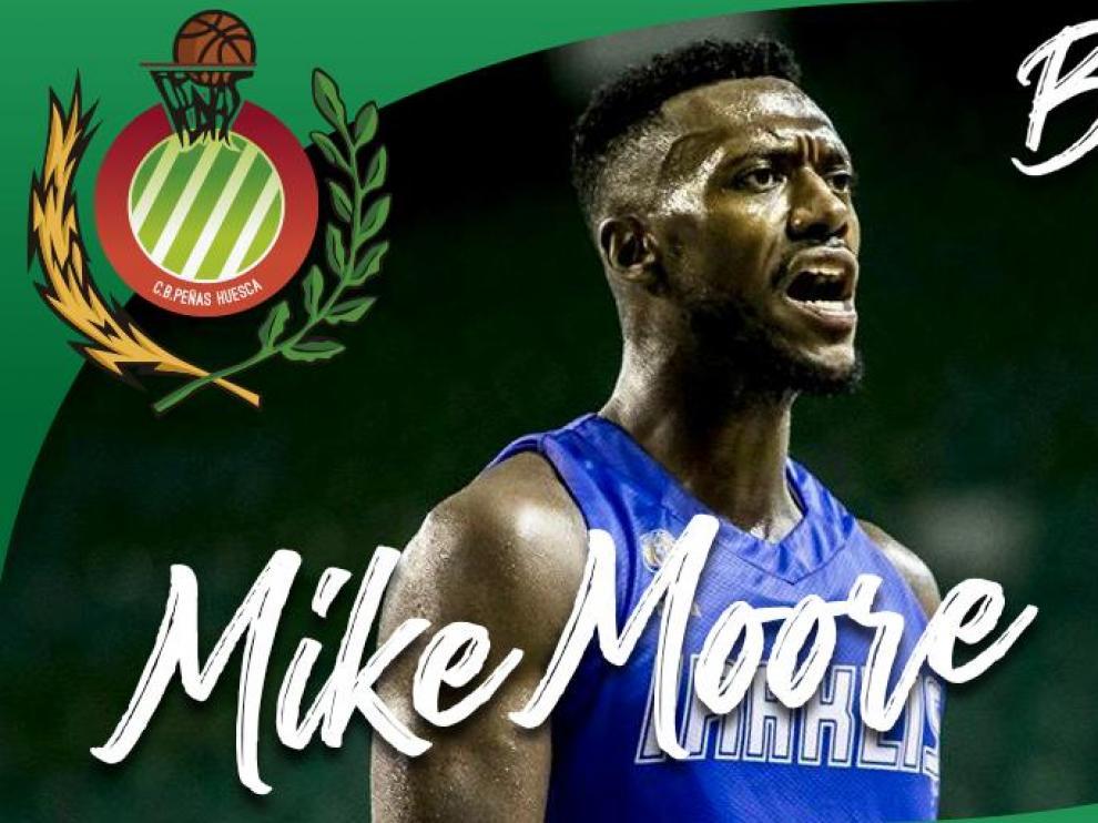 Mike Moore refuerza al Levitec Huesca