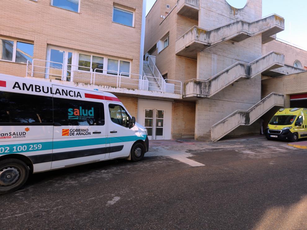 ambulancia hospital san Jorge[[[DDA FOTOGRAFOS]]][[[DDAARCHIVO]]]