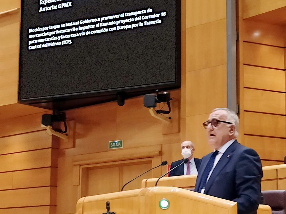 El senador Clemente Sánchez-Garnica