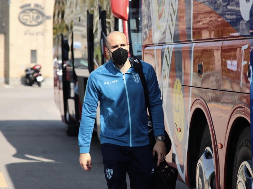 Sandro, uno de los veintiún jugadores convocados para la visita al Eibar.