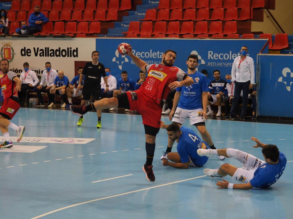 El Bada Huesca jugará ante el Bidasoa su tercer partido en ocho días.