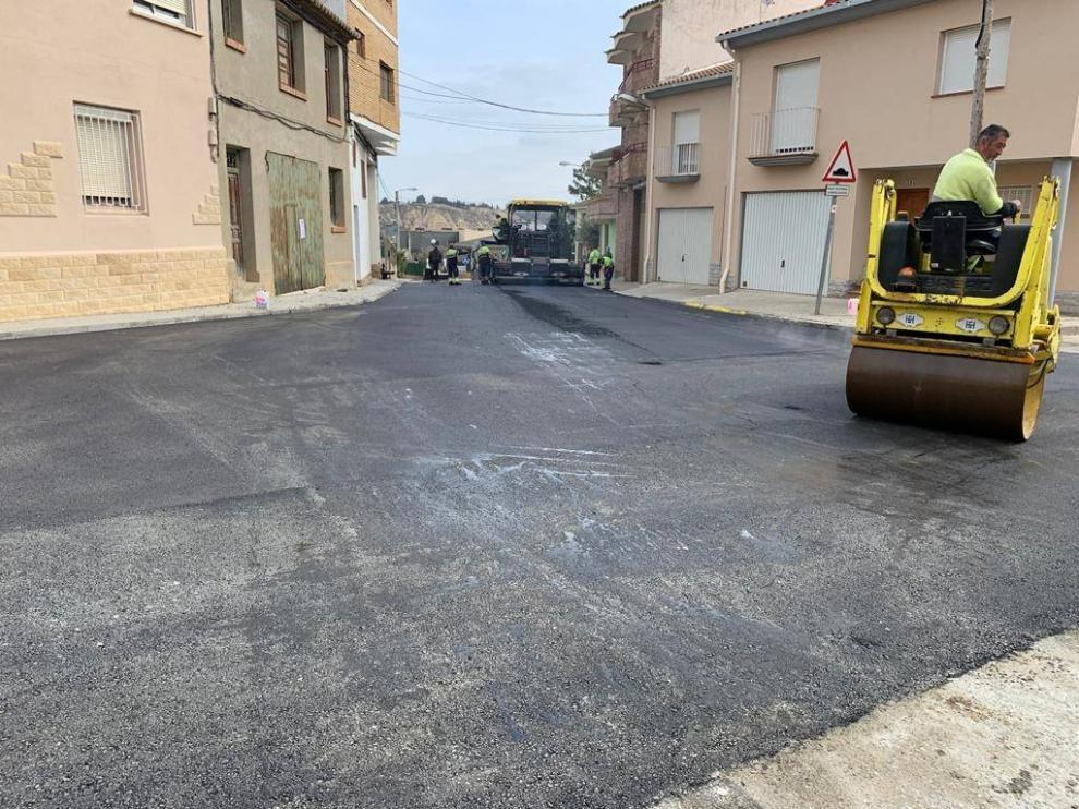 Mejora del plan de asfaltado.