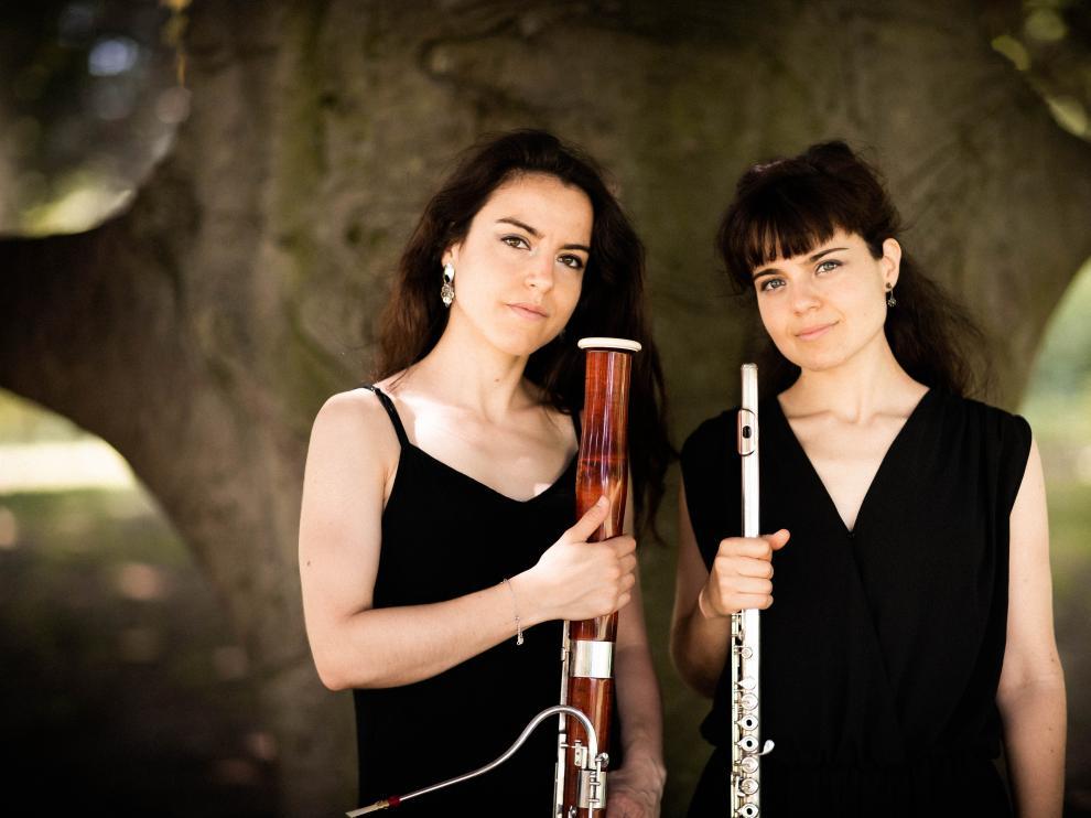 Carmen y Ana Mainer, el alma y corazón de Gavarnie Ensemble.