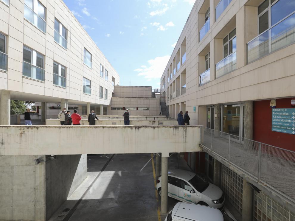Centro de Salud Pirineos / 05-10-2020 / Foto Rafael Gobantes [[[DDA FOTOGRAFOS]]][[[DDAARCHIVO]]]