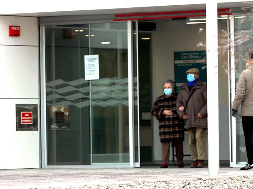 foto pablo segura centro salud los olivos HUESCA