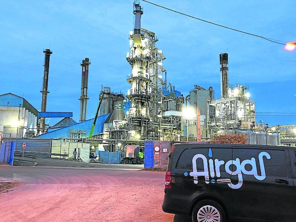 Airgas se encuentra en el polígono industrial Monzu.