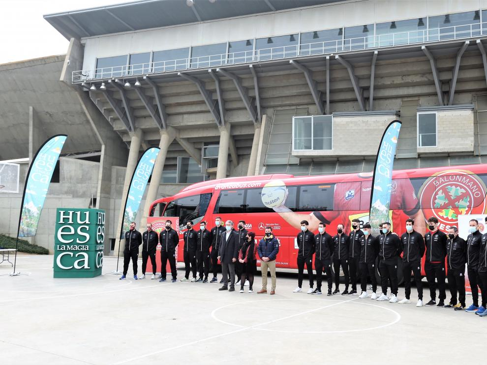 Bada Huesca, preparado para la Copa del Rey de este fin de semana.