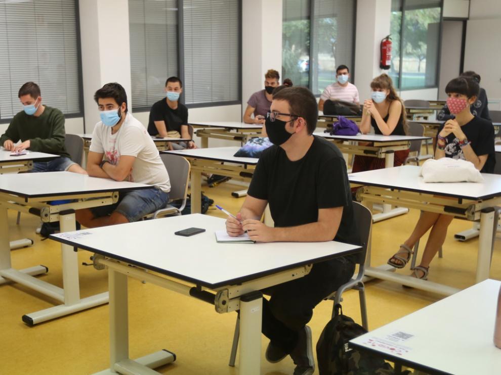 Inicio del curso académico en la Escuela Politécnica de Huesca.