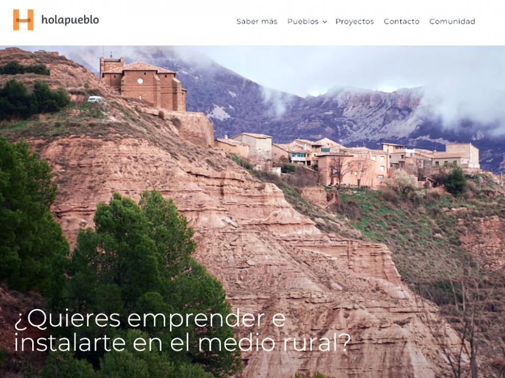 Captura de la web holapueblo.