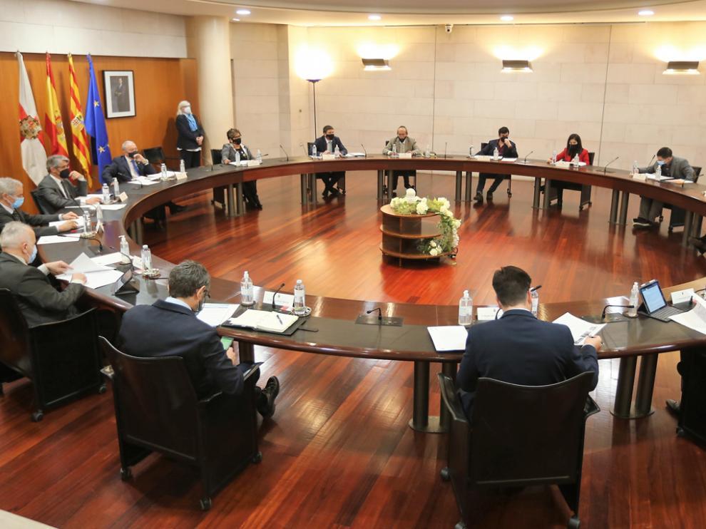 Imagen de la sesión plenaria celebrada este jueves.