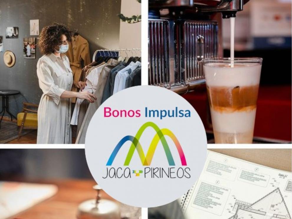 Cartel Bonos Impulsa Jaca