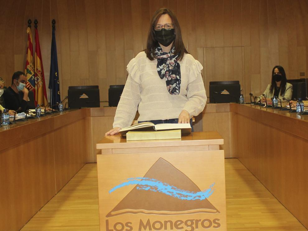 Pleno ordinario de la comarca de Los Monegros.