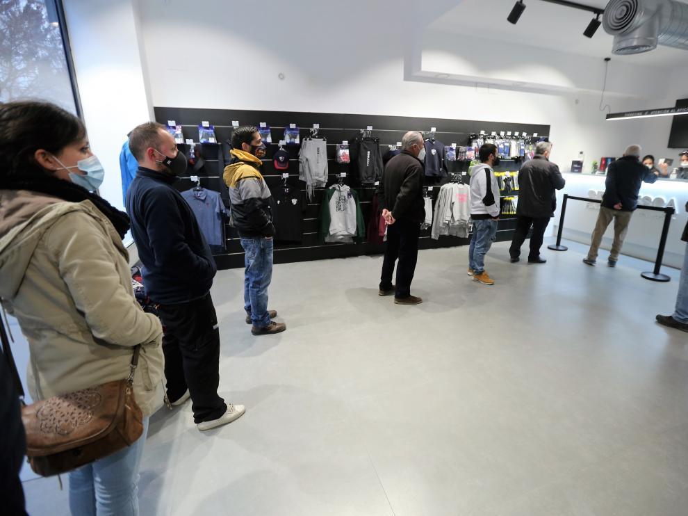 Imagen de la tienda oficial de la SD Huesca