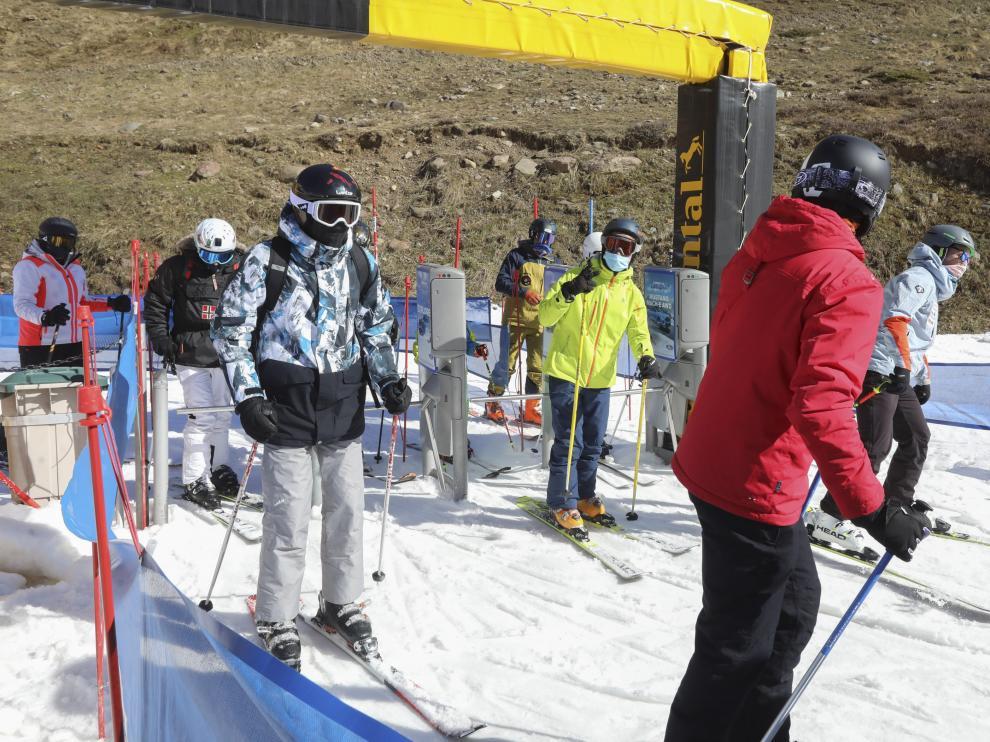 Esquí en Astún.