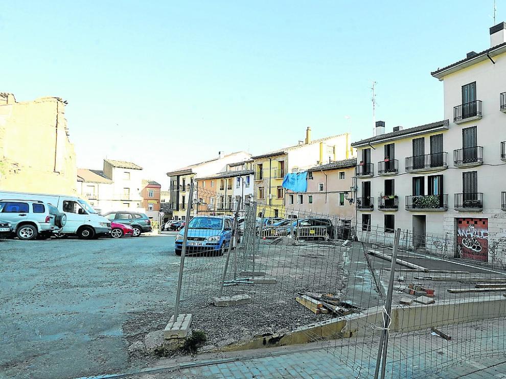 Plaza de la Moneda - Obras / 9-3-2021 / Foto Rafael Gobantes[[[DDA FOTOGRAFOS]]]