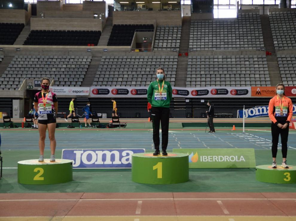 Elena Guiu medalla de bronce