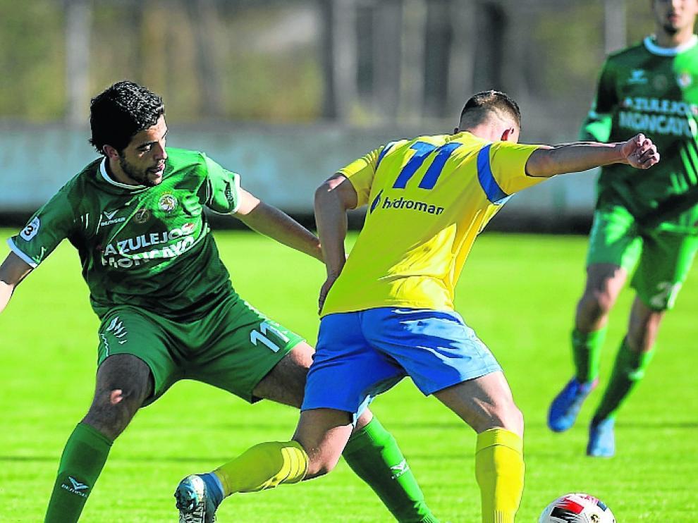 El Almudévar no logró remontar el gol inicial de Desus, pero consiguió amarrar un punto contra el Cuarte.
