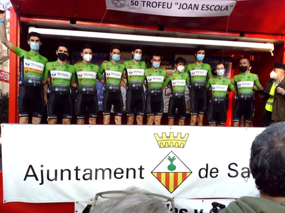 El Huesca La Magia Renault fue primero y segundo el sábado y el domingo.