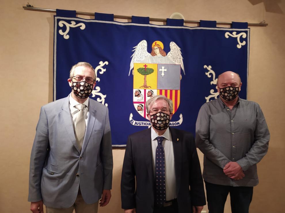 Los miembros de la Plataforma se han reunido con el Justicia de Aragón.