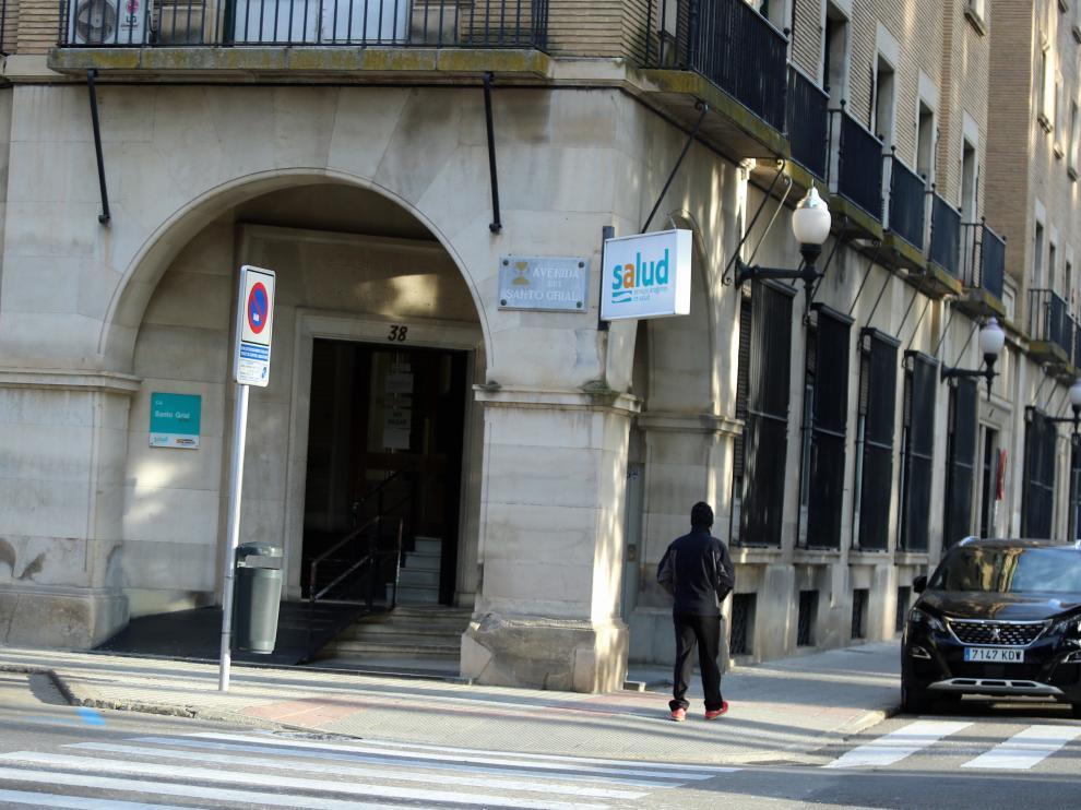 Centro de salud de Santo Grial en Huesca.