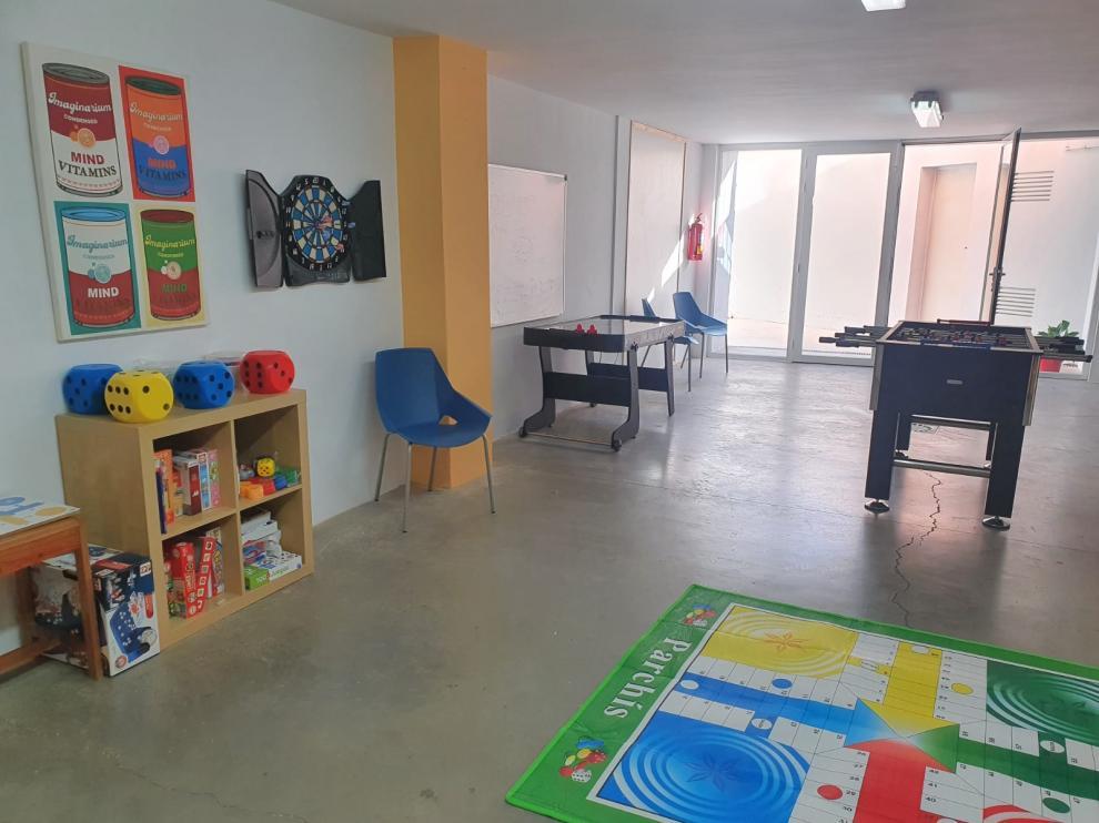 """Nuevo espacio """"Diversidad"""" en el centro Ágape de Cáritas de Monzón."""