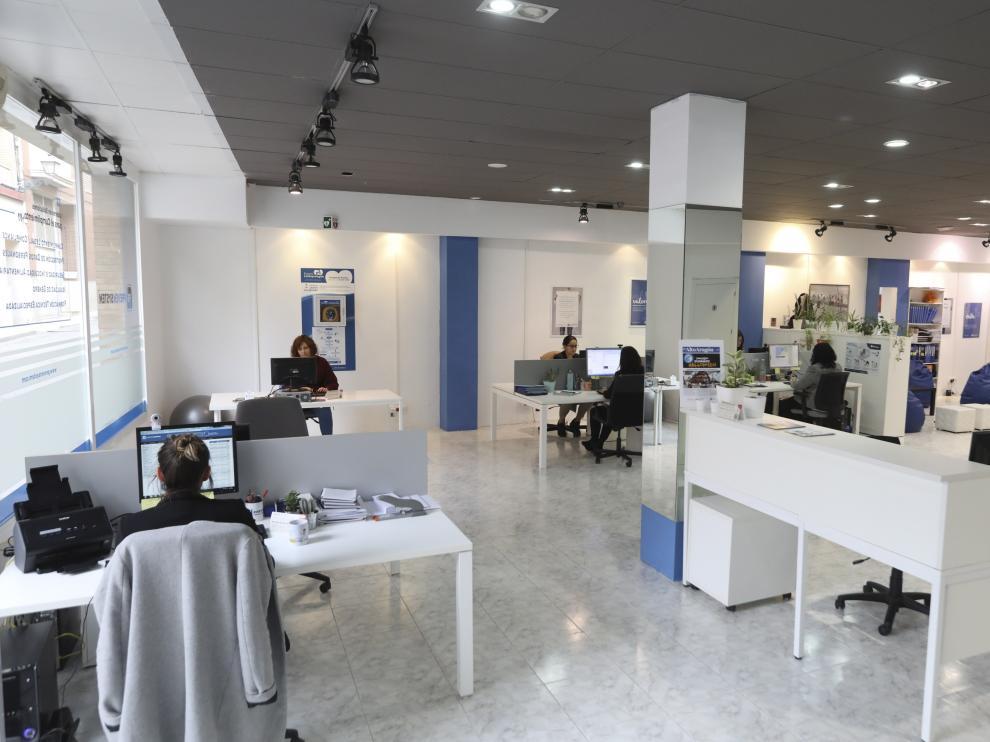 Oficinas de la empresa PrevenSystem en la Calle Padre Huesca / 8-11-19 / Foto Rafael Gobantes [[[DDA FOTOGRAFOS]]][[[DDAARCHIVO]]]