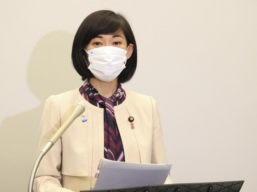 Tamayo Marukawa, ministra nipona a cargo de los JJ.OO.