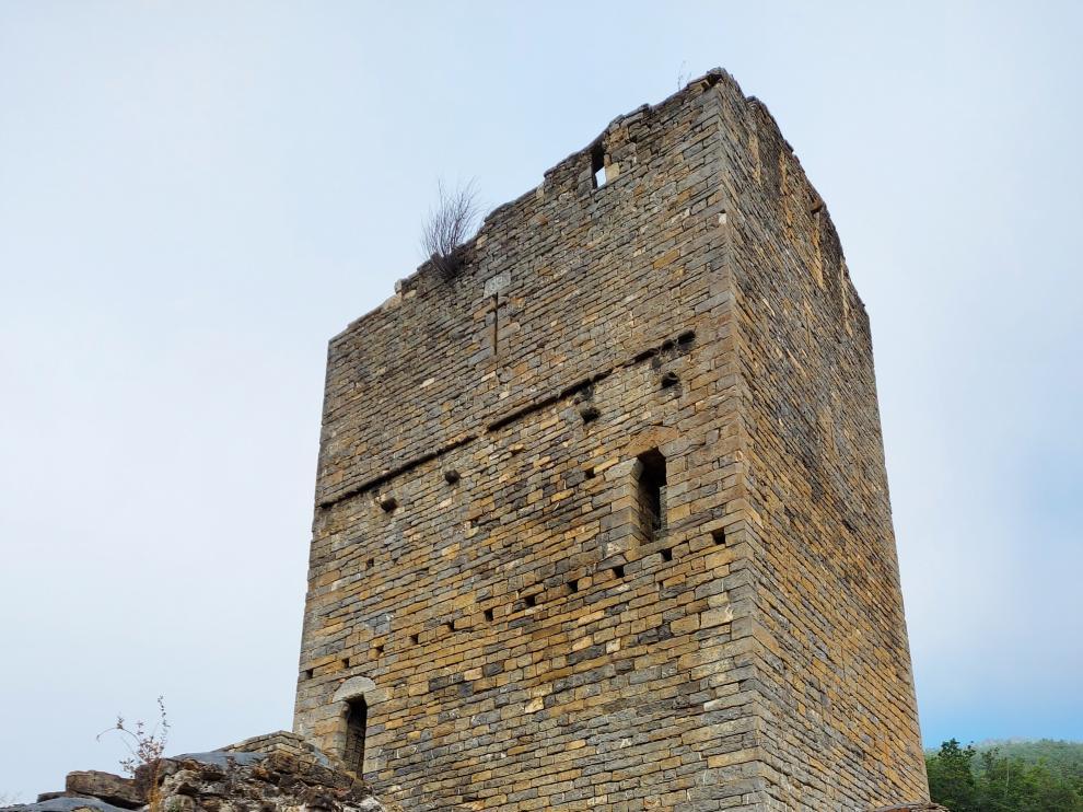 La torre ocupa más de 700 metros cuadrados.