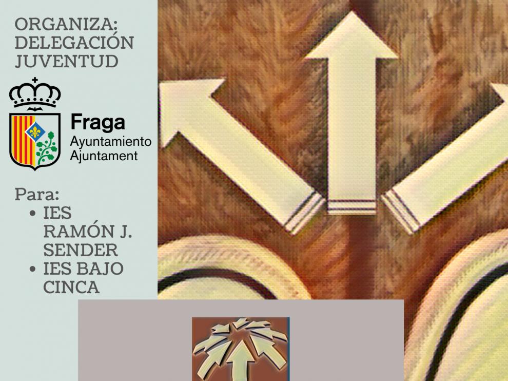 Cartel de la charla que impartirá Marisa Felipe