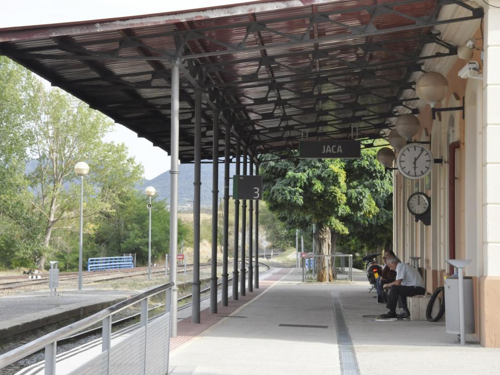 Estación de tren de Jaca.