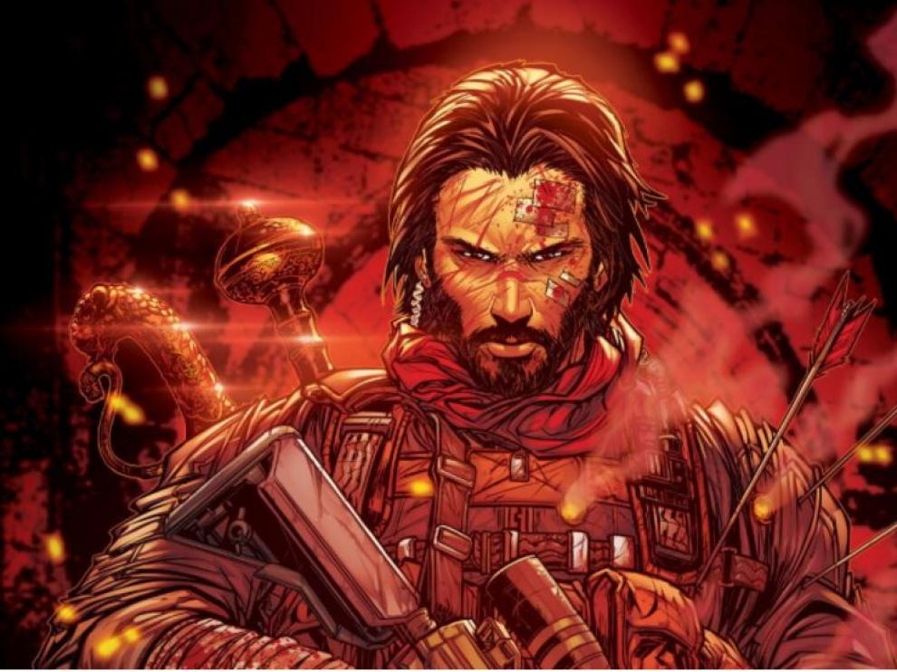 La película y la serie de Netflix están basadas en el propio cómic del actor.