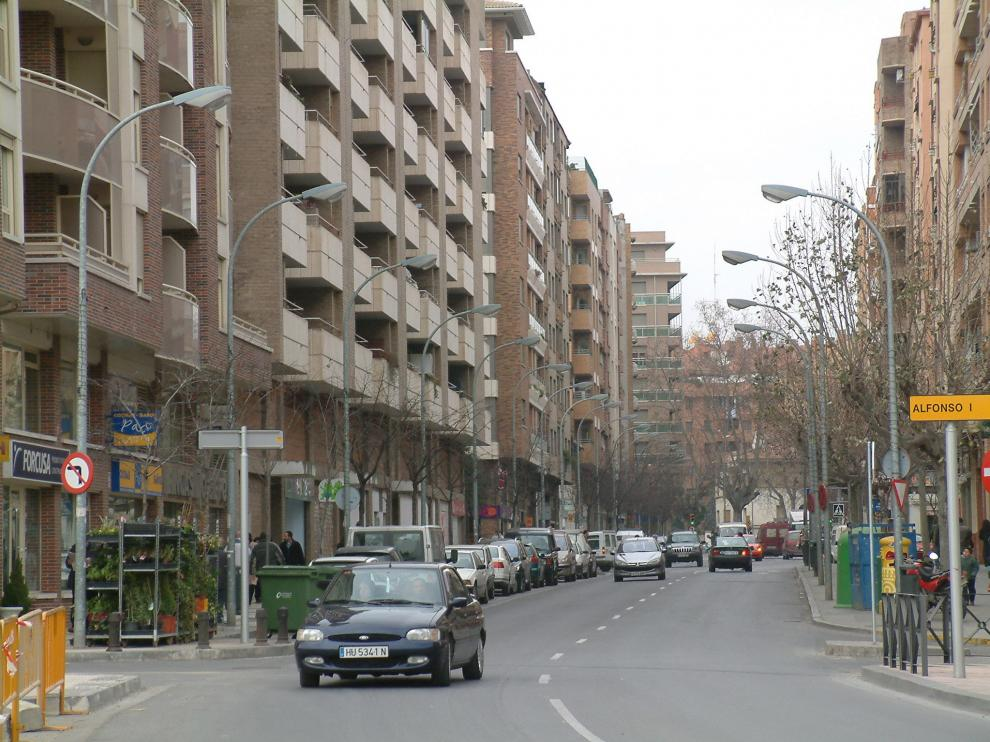 Huesca calle Cabestany