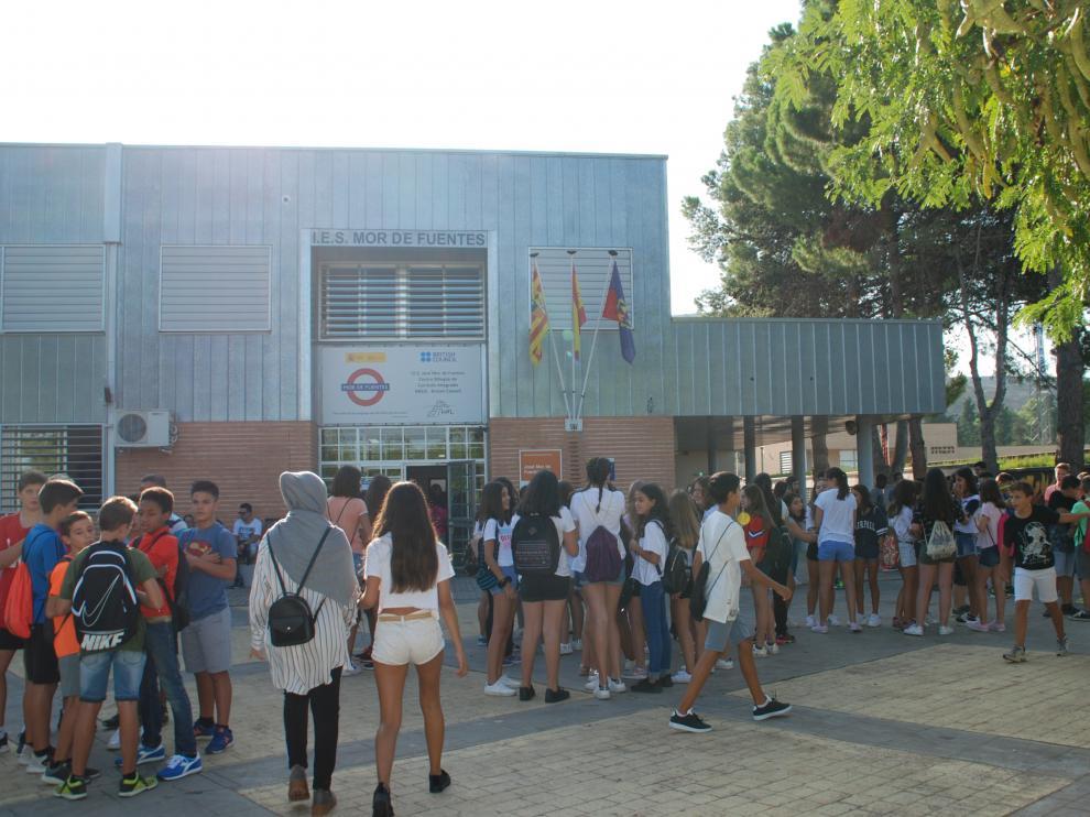 Instituto Mor de Fuentes en Monzón.